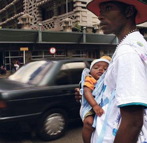 Chief K.Masimba and Baby Tadana